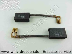 Ersatzteile für AEG-Elektrowerkzeuge, Ersatzteil: 4931369476-335 - Kohlebürstenpaar 6,3x12,5x20mm - original nicht mehr verfügbar >>> Nachbau in Originalqualität inkl. Abschaltfunktion