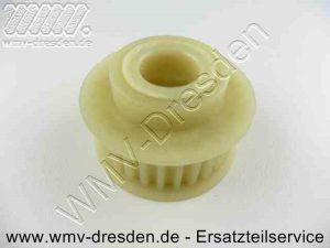 Zahnrienemscheibe Antrieb für Messerwelle >>> Plastik , 48 mm Außendurchmesser <<< - (Art.Nr. 100.000.919-KYN)