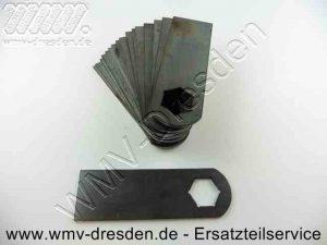 Vertikutiermessersatz >>>18 Stück<<< Länge 91 mm, für Welle 17 mm - (Art.Nr. 110.004.066-KYN) rasenmäher vertikutierer